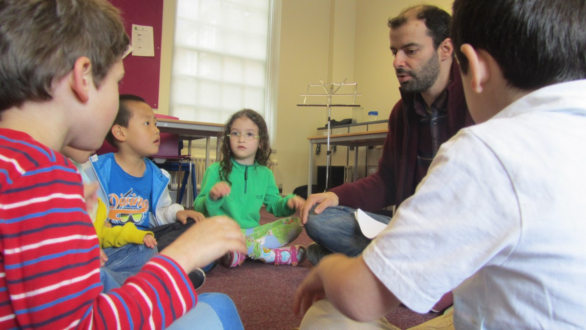 junior musician classes at YMC