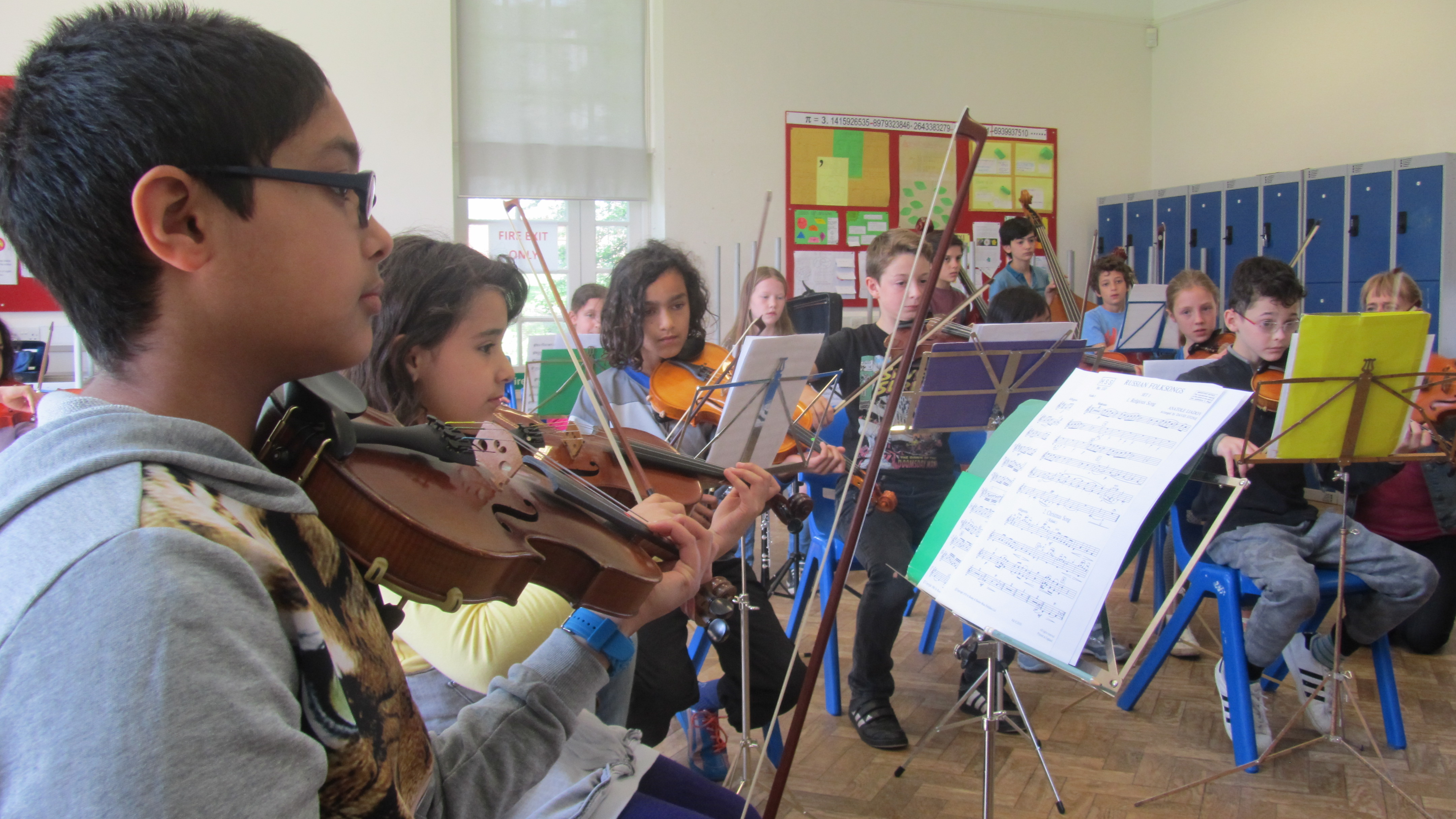 ymc preparatory first orchestra