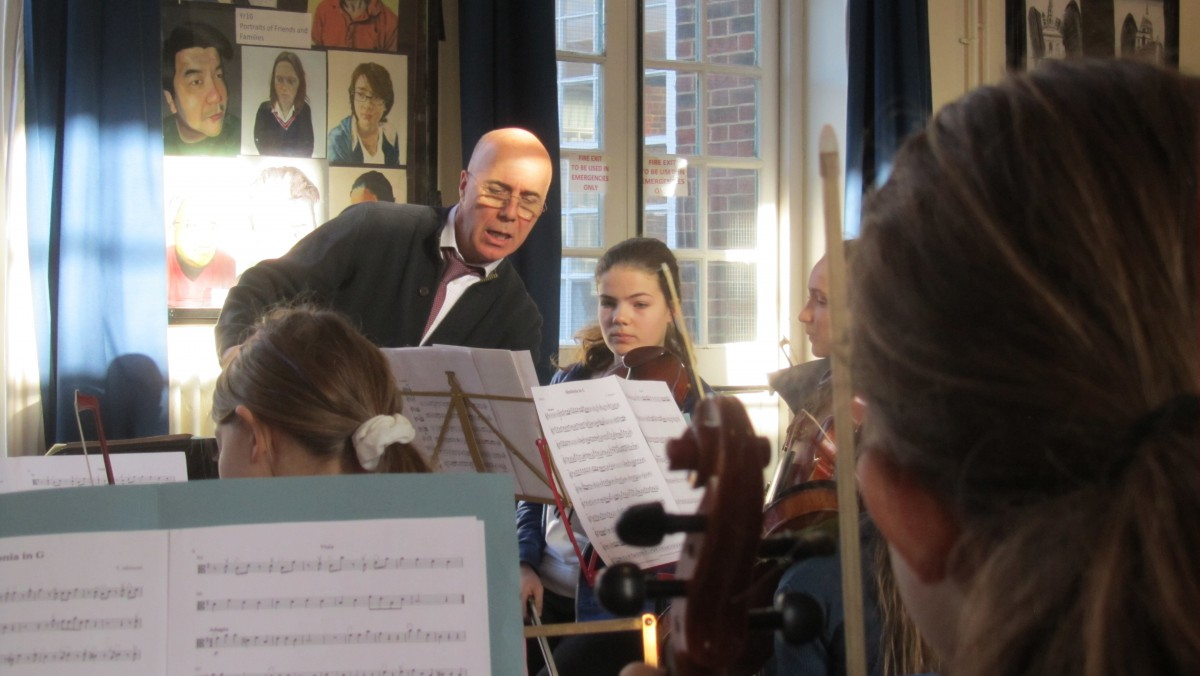 YMC Junior Orchestra conducted by Nigel Goldberg