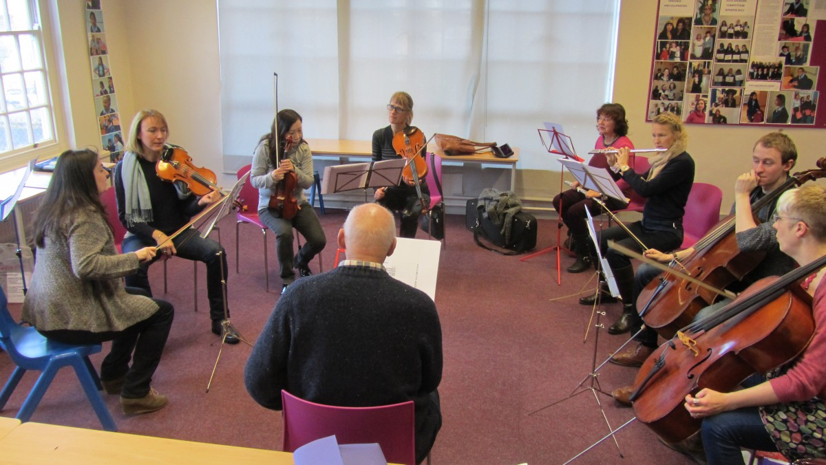 parent orchestra at ymc
