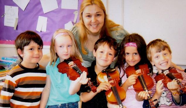 Instrumental beginner classes