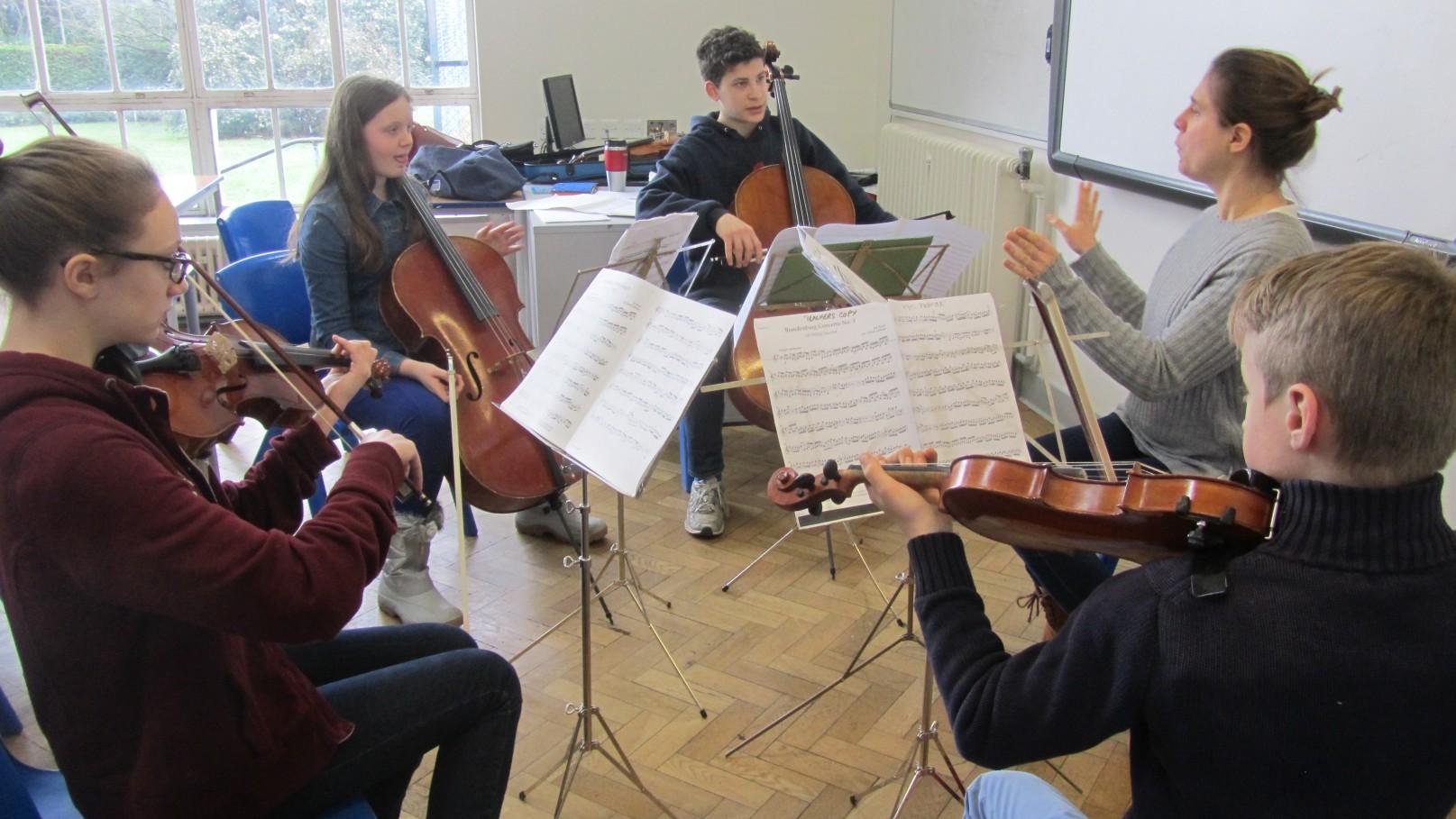 chamber ensemble at ymc with Elsa Cusido 06