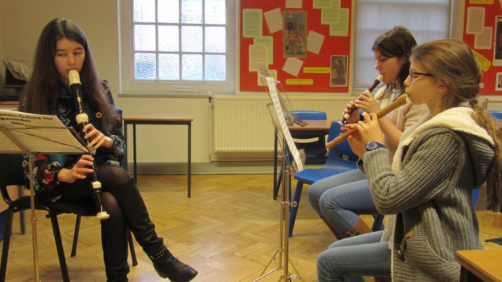 recorder ensemble at ymc 03
