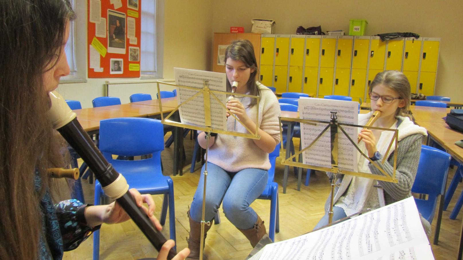 recorder ensemble at ymc 01