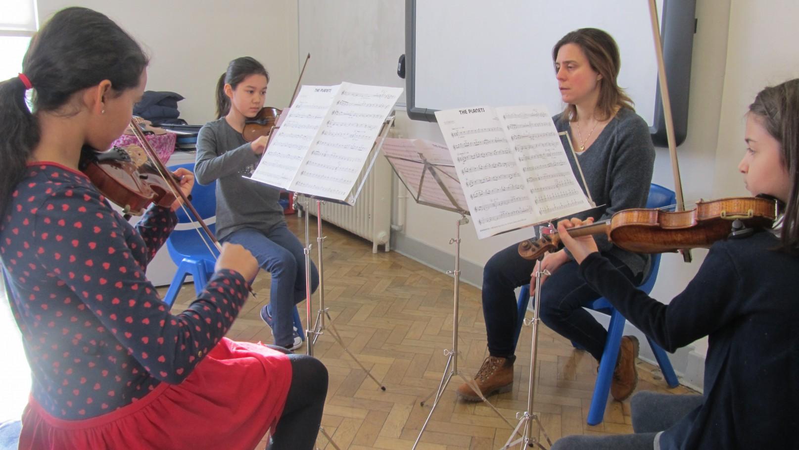 Chamber ensemble at ymc 03
